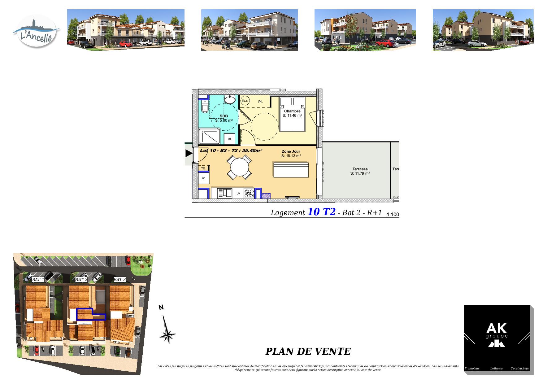 Maisons du constructeur MAISON DU DAUPHINE • 36 m² • CLEON D'ANDRAN