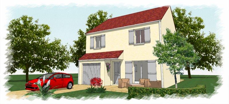Maisons du constructeur CHENES CONSTRUCTION • 90 m² • APPOIGNY