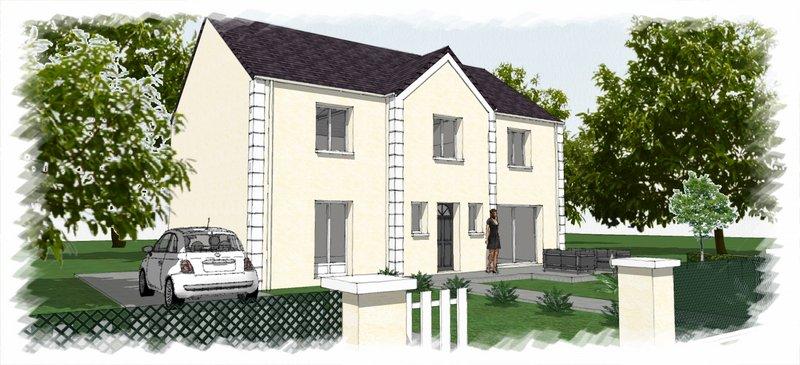 Maisons du constructeur CHENES CONSTRUCTION • 100 m² • POURRAIN