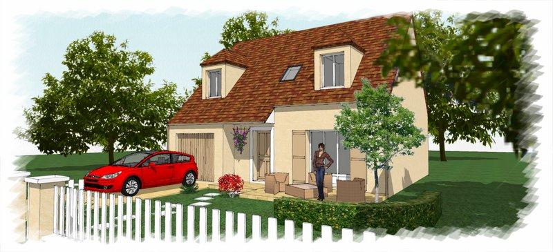 Maisons du constructeur CHENES CONSTRUCTION • 105 m² • PERRIGNY