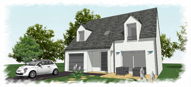 Maisons du constructeur CHENES CONSTRUCTION • 80 m² • VILLEFARGEAU