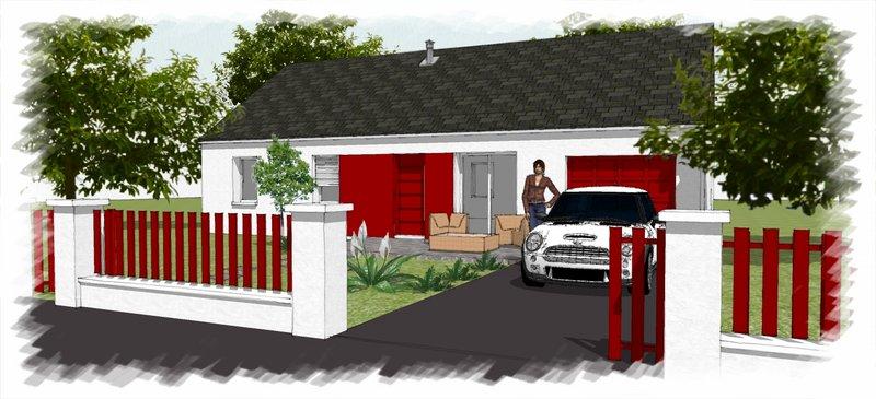 Maisons du constructeur CHENES CONSTRUCTION • 87 m² • APPOIGNY
