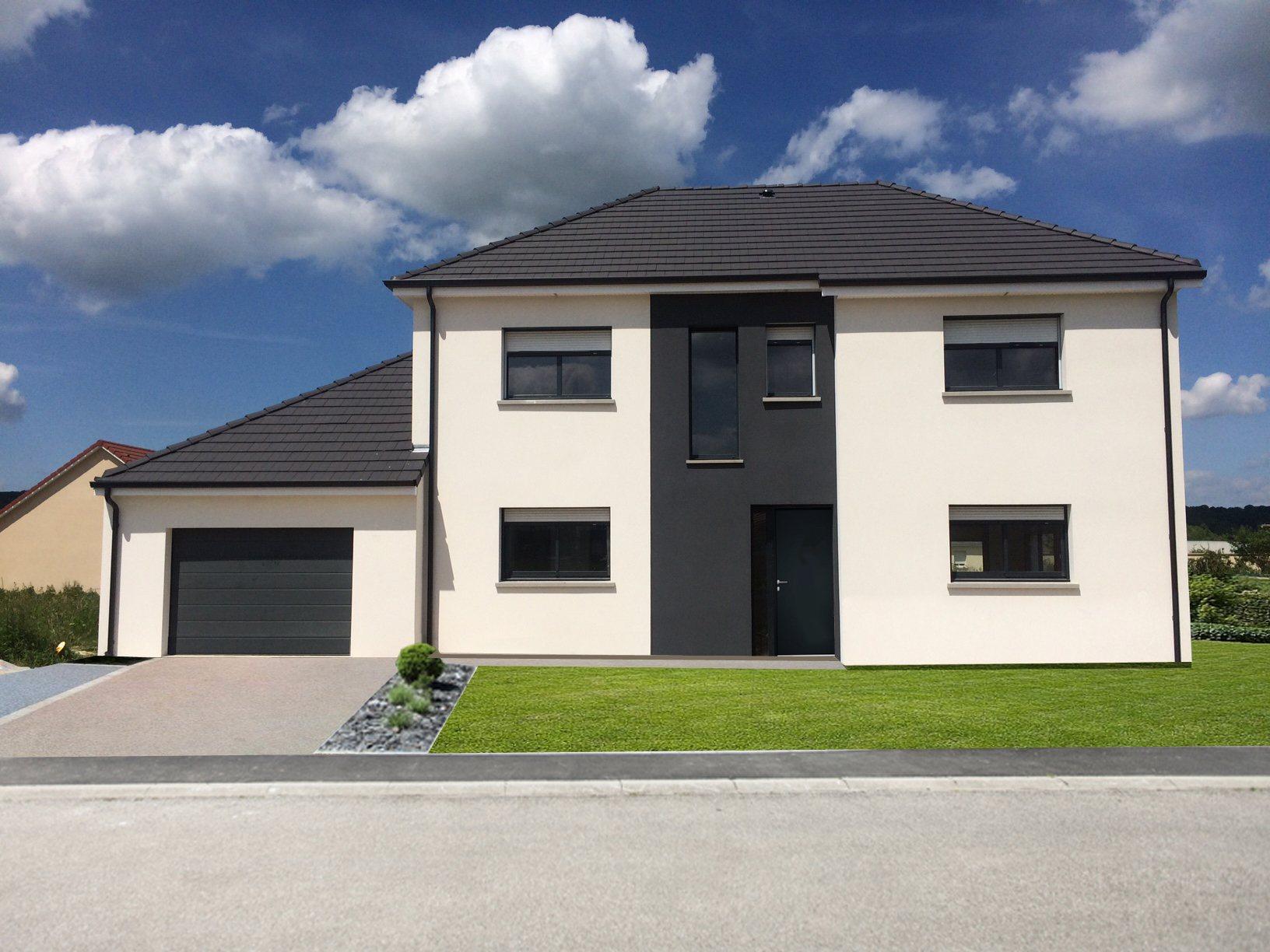 Maisons + Terrains du constructeur MAISON CASTOR • 150 m² • GRAVIGNY