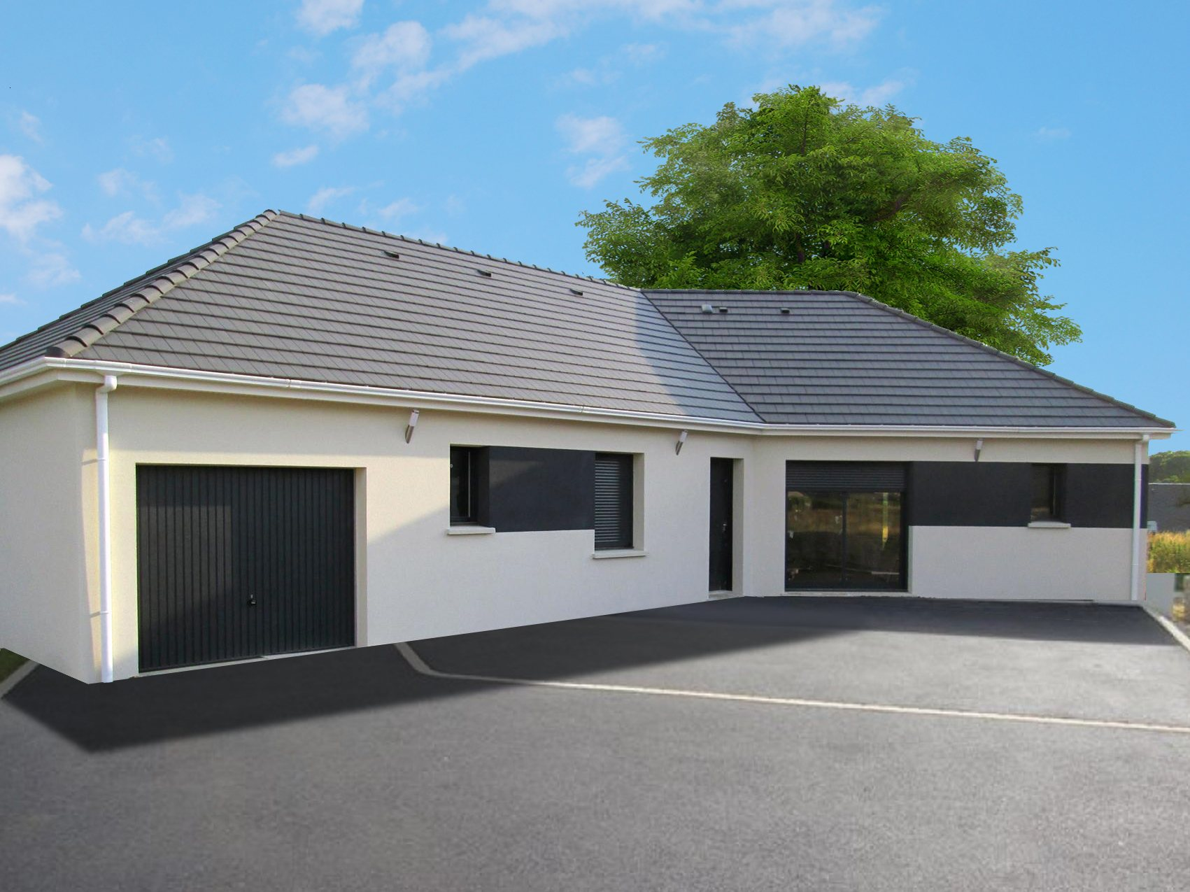 Maisons + Terrains du constructeur MAISON CASTOR • 120 m² • SAINT PIERRE DU VAUVRAY
