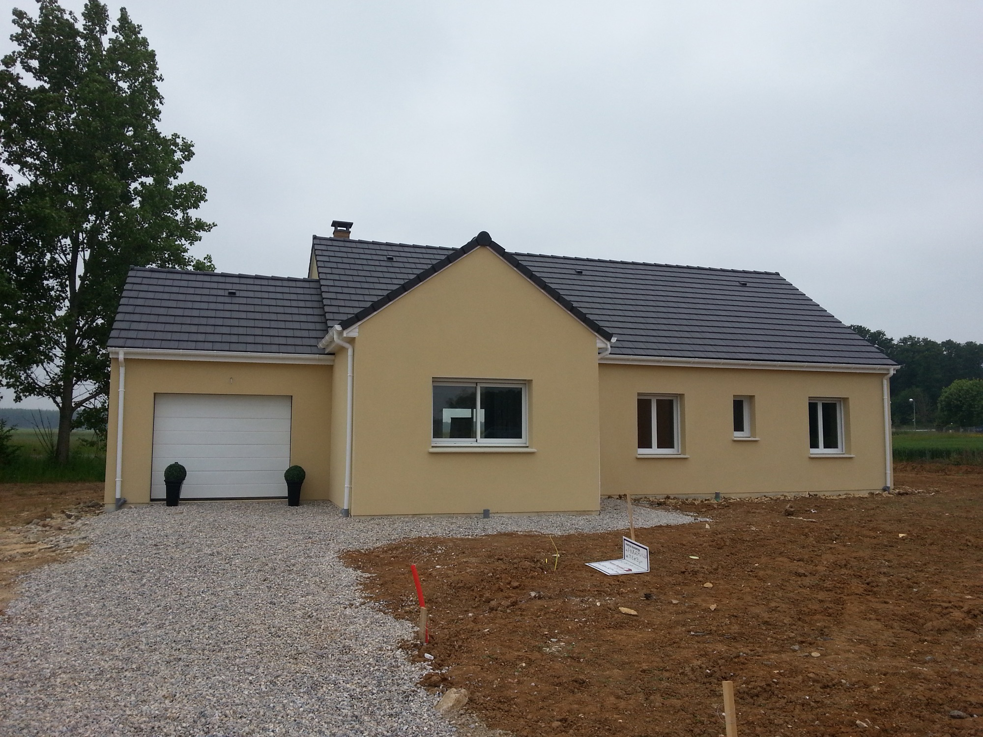 Maisons + Terrains du constructeur MAISON CASTOR • 110 m² • SAINT ANDRE DE L'EURE
