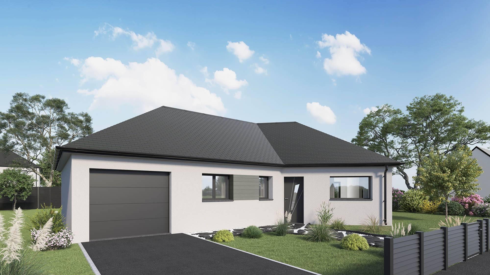 Maisons + Terrains du constructeur MAISON CASTOR • 96 m² • LES AUTHIEUX