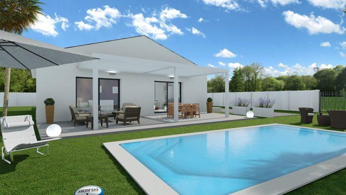 Maisons du constructeur 2A VILLAS • 80 m² • RESTINCLIERES