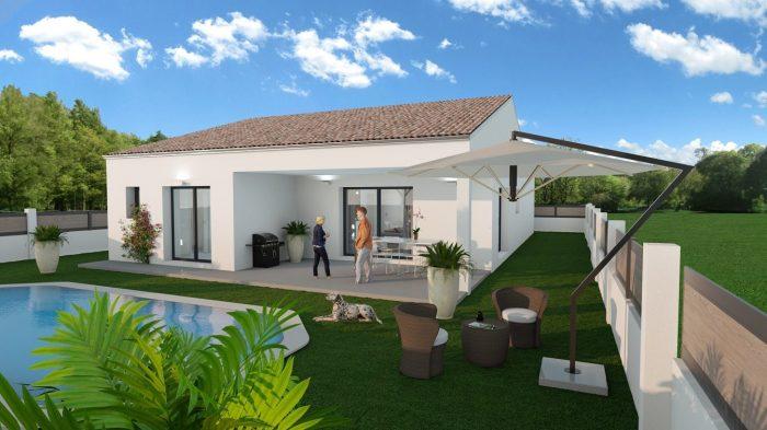 Maisons du constructeur 2A VILLAS • 80 m² • SAUSSAN