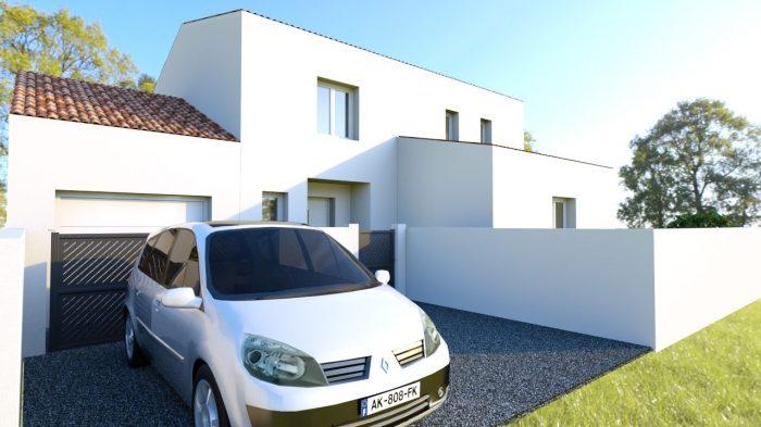 Maisons du constructeur 2A VILLAS • 80 m² • LUNEL VIEL