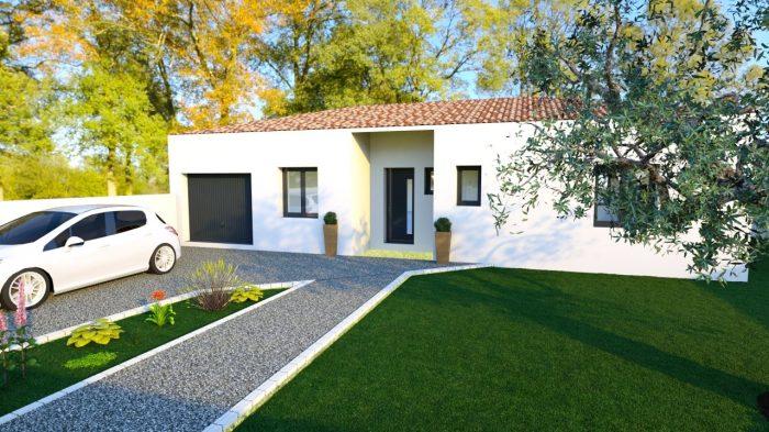 Maisons du constructeur 2A VILLAS • 80 m² • SAINT BRES