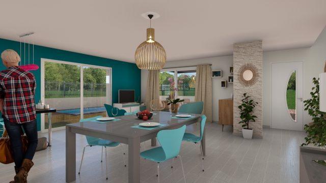 Maisons du constructeur 2A VILLAS • 100 m² • CESSENON SUR ORB