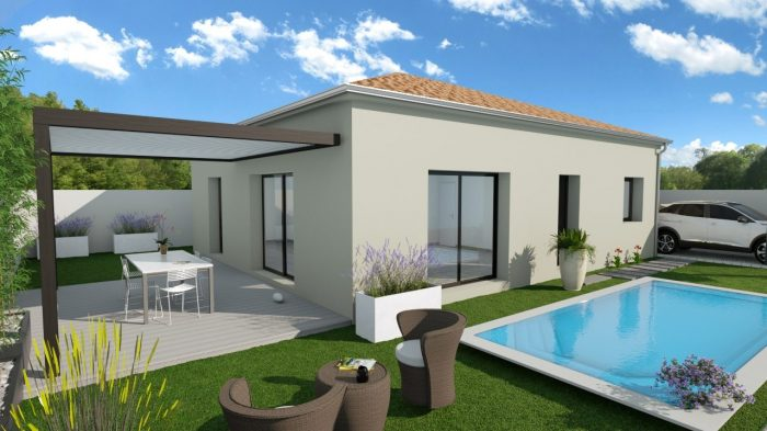 Maisons du constructeur 2A VILLAS • 85 m² • SAINT THIBERY