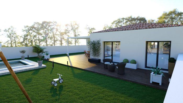 Maisons du constructeur 2A VILLAS • 90 m² • CLERMONT L'HERAULT