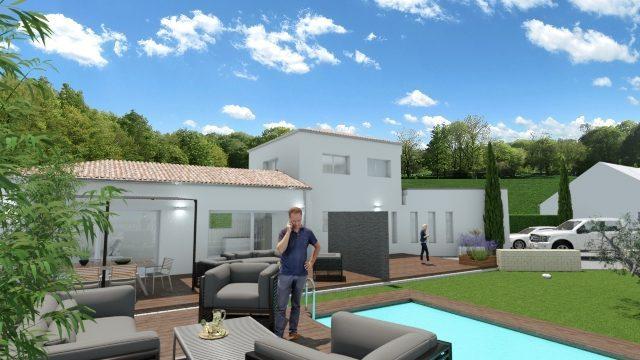 Maisons du constructeur 2A VILLAS • 100 m² • SAINT BAUZILLE DE MONTMEL