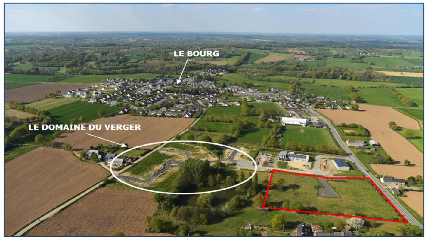 Terrains du constructeur CM - CIC AMENAGEMENT FONCIER RENNES • 414 m² • ERCE PRES LIFFRE