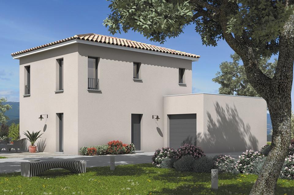 Maisons + Terrains du constructeur MAISONS FRANCE CONFORT • 110 m² • AUBAGNE