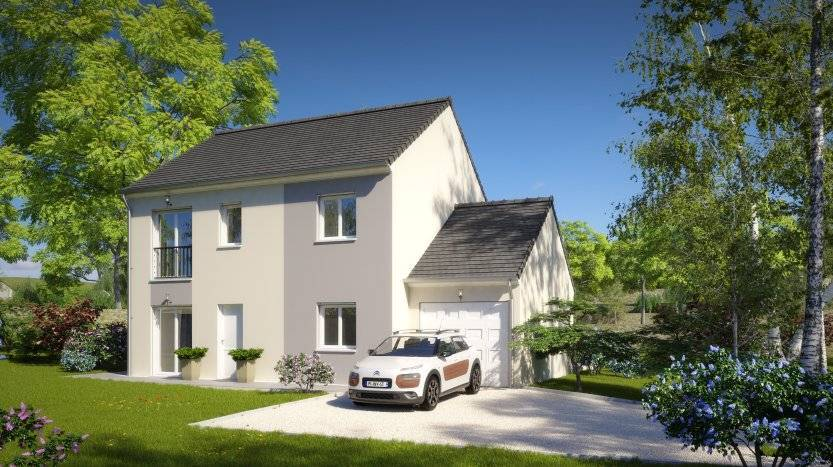 Maisons du constructeur HABITAT PAR COEUR • 110 m² • CHAUCONIN NEUFMONTIERS