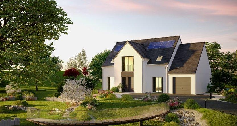 Maisons du constructeur HABITAT PAR COEUR • 124 m² • LA FERTE SOUS JOUARRE