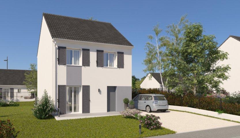 Maisons du constructeur HABITAT PAR COEUR • 88 m² • CLAYE SOUILLY