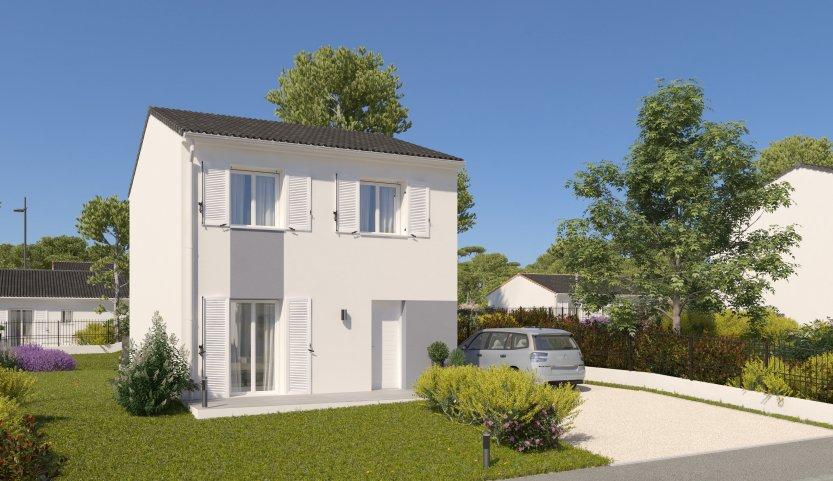 Maisons du constructeur HABITAT PAR COEUR • 88 m² • CHAUCONIN NEUFMONTIERS
