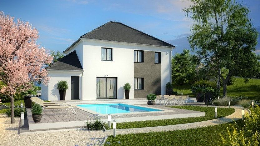 Maisons du constructeur HABITAT PAR COEUR • 133 m² • CHAUCONIN NEUFMONTIERS