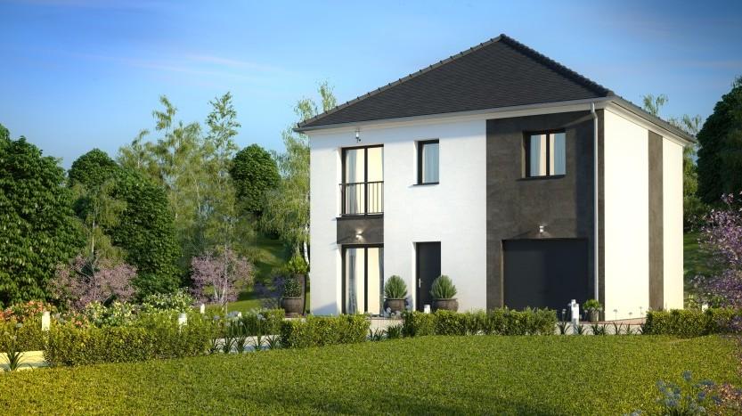 Maisons du constructeur HABITAT PAR COEUR • 95 m² • DAMMARTIN EN GOELE
