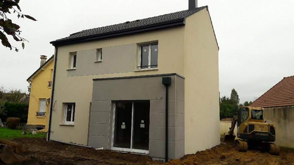 Maisons + Terrains du constructeur LES MAISONS.COM AULNAY SOUS BOIS • 86 m² • VILLEPINTE