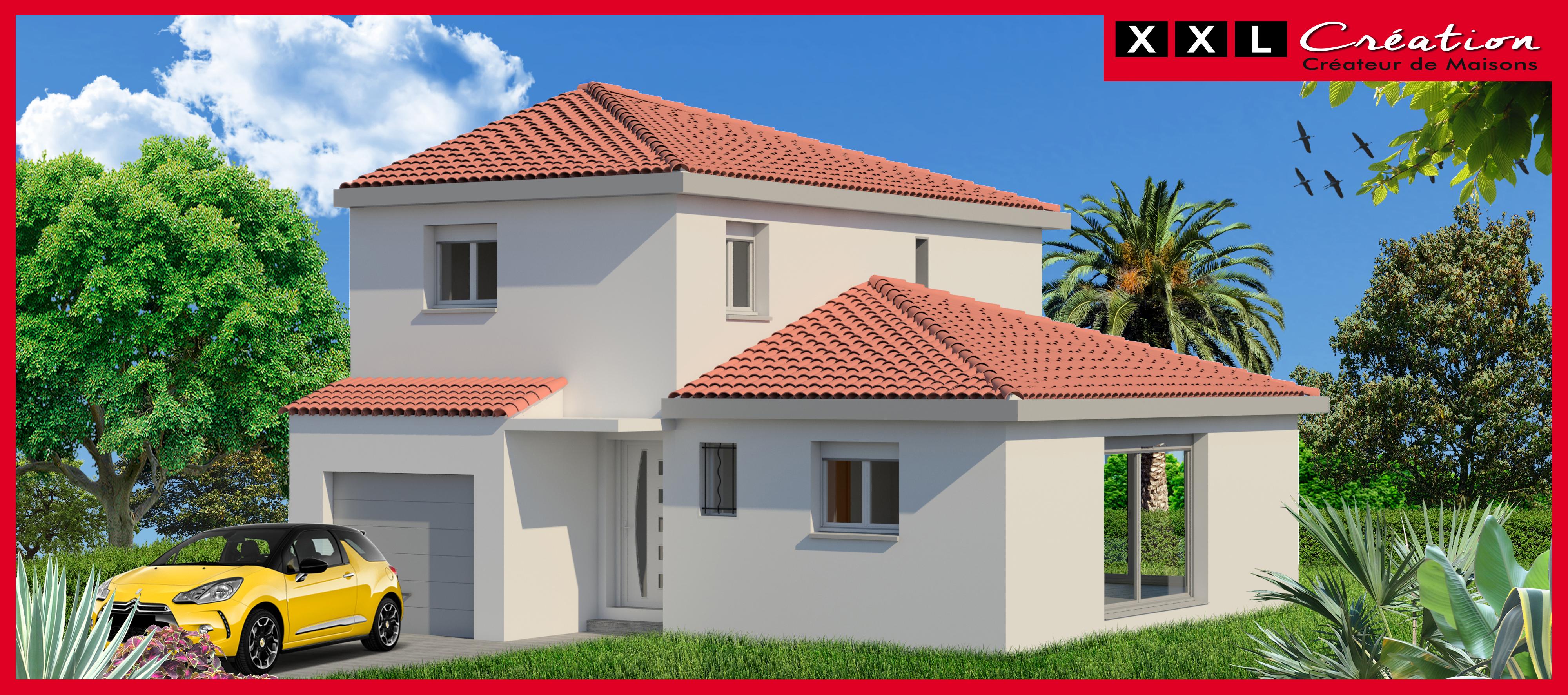 Maisons + Terrains du constructeur XXL CREATION • 90 m² • CORNEILLA LA RIVIERE
