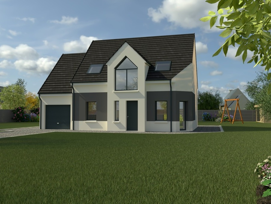 Maisons du constructeur Maisons i Beauvais • 110 m² • LA RUE SAINT PIERRE