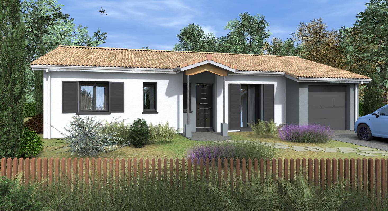 Maisons + Terrains du constructeur HEXHA CONSTRUCTION • 89 m² • PONTENX LES FORGES