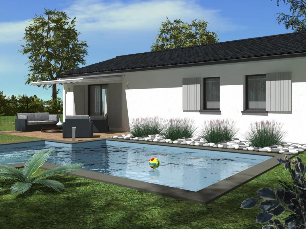 Maisons + Terrains du constructeur HEXHA CONSTRUCTION • 90 m² • VAYRES