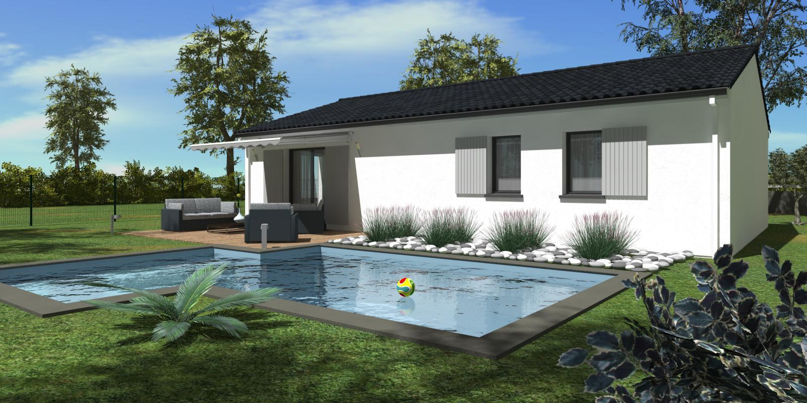 Maisons + Terrains du constructeur HEXHA CONSTRUCTION • 100 m² • PETIT PALAIS ET CORNEMPS