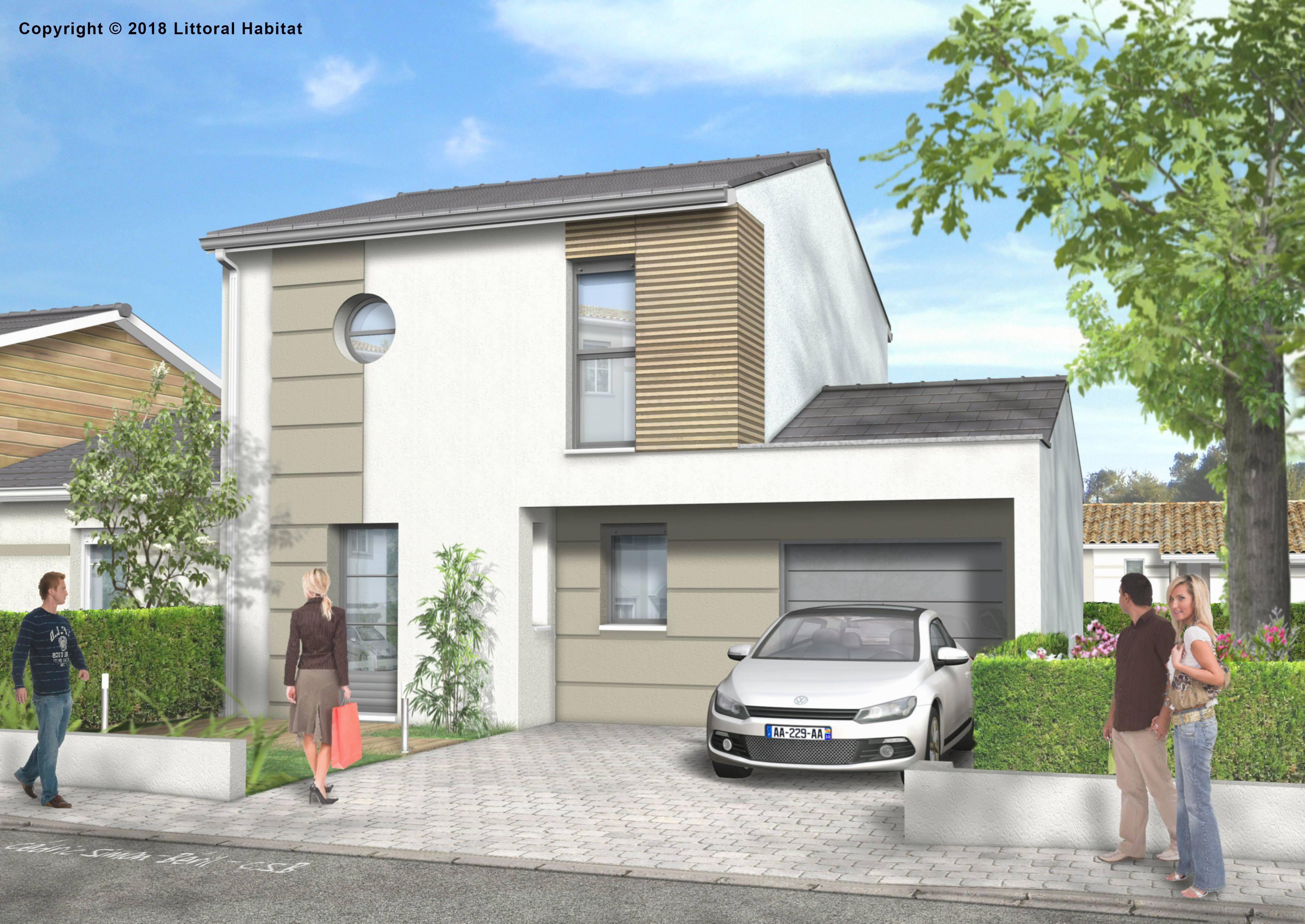 Maisons + Terrains du constructeur LITTORAL HABITAT DAX • 78 m² • SAINT VINCENT DE TYROSSE