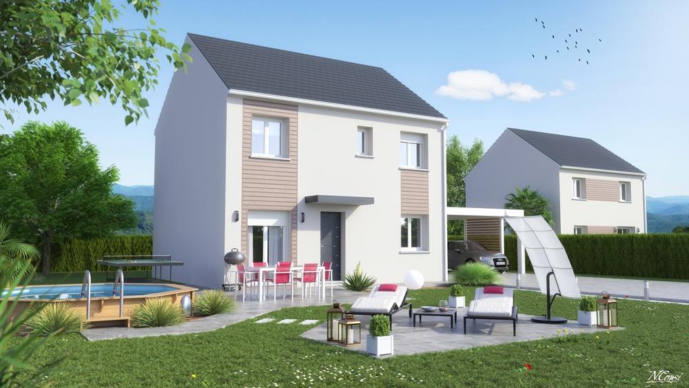 Maisons + Terrains du constructeur LE PAVILLON FRANCAIS • 140 m² • SAINT MICHEL SUR ORGE