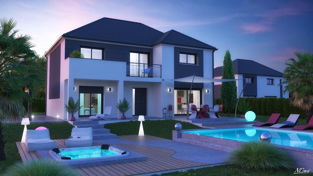 Maisons + Terrains du constructeur LE PAVILLON FRANCAIS • 140 m² • MENNECY