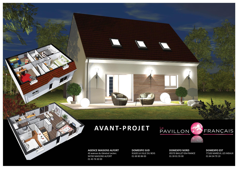 Maisons + Terrains du constructeur LE PAVILLON FRANCAIS • 106 m² • BOISSY SOUS SAINT YON