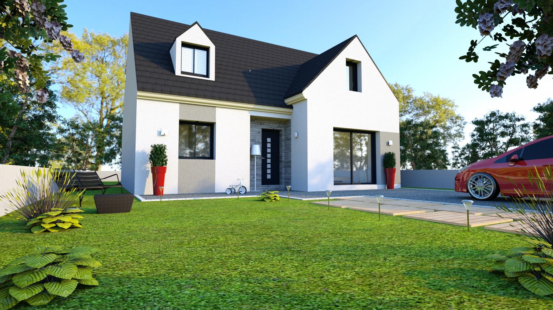Maisons + Terrains du constructeur LE PAVILLON FRANCAIS • 120 m² • JAMBVILLE