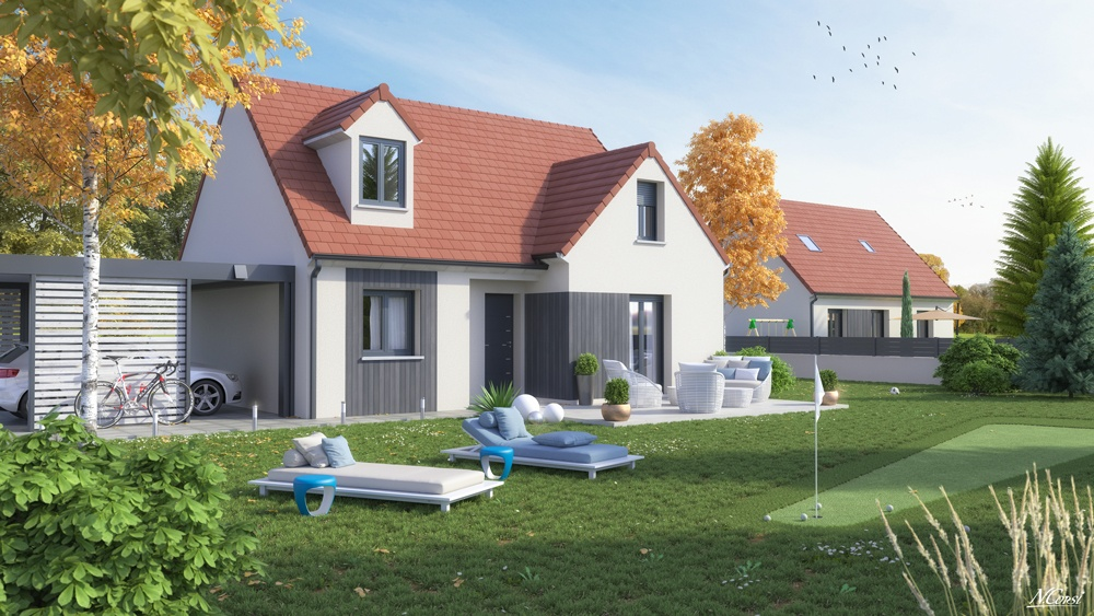 Maisons + Terrains du constructeur LE PAVILLON FRANCAIS • 110 m² • YERRES