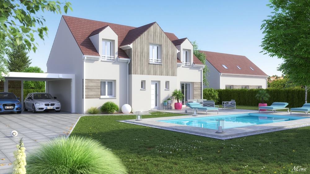 Maisons + Terrains du constructeur LE PAVILLON FRANCAIS • 100 m² • YERRES