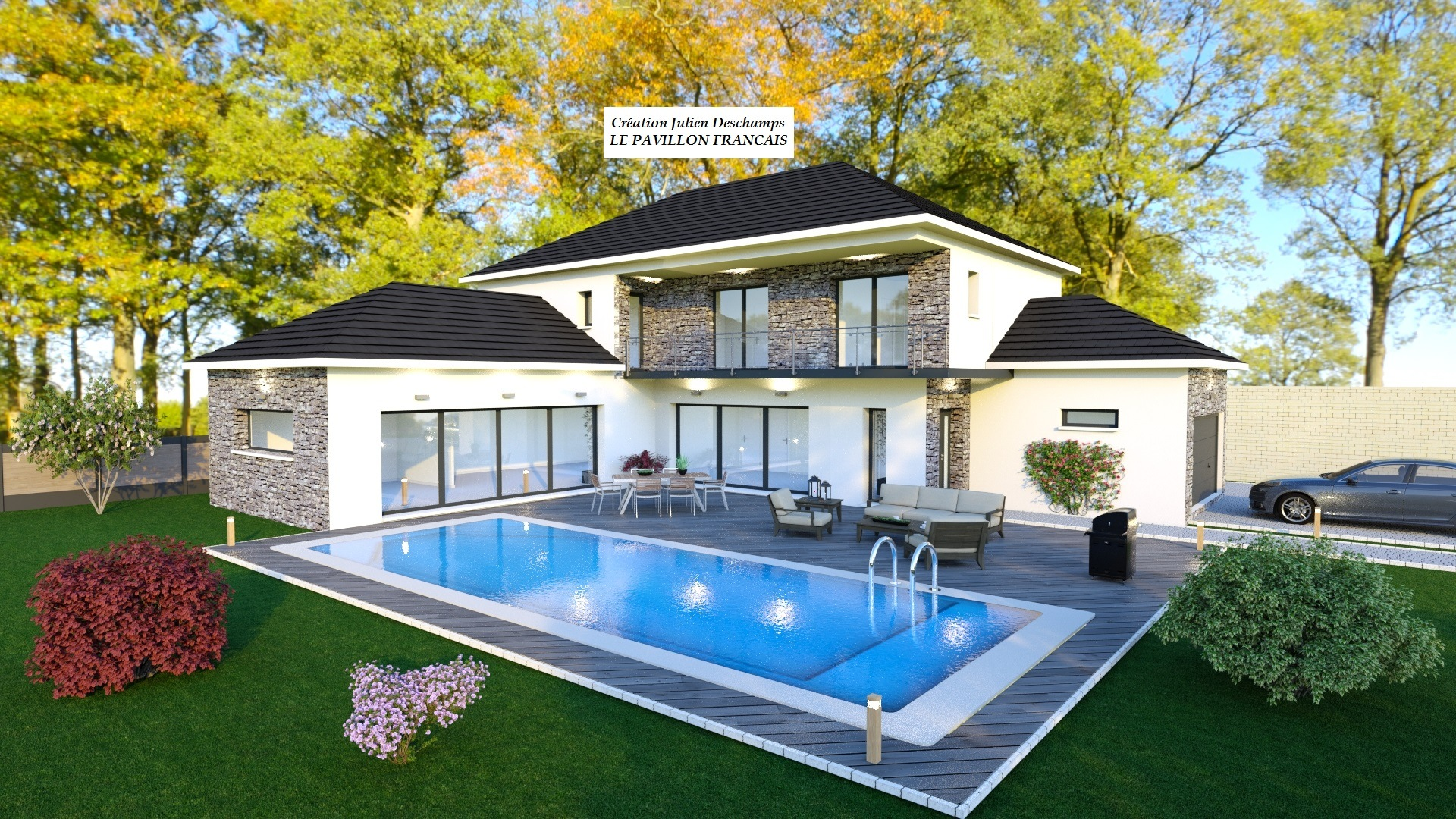 Maisons + Terrains du constructeur LE PAVILLON FRANCAIS • 220 m² • MAUREPAS