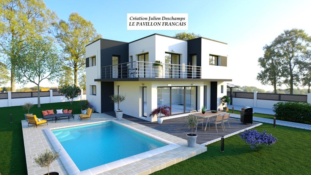 Maisons + Terrains du constructeur LE PAVILLON FRANCAIS • 130 m² • BAZEMONT