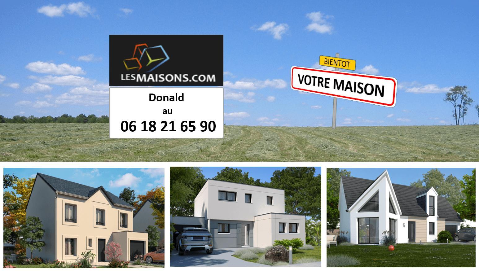 Terrains du constructeur LES MAISONS.COM LA VILLE DU BOIS • 500 m² • SAINT MAURICE MONTCOURONNE