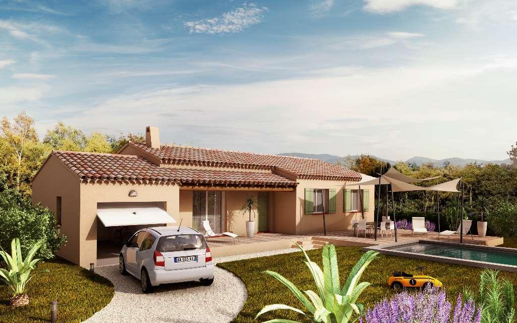 Maisons du constructeur VILLAS INDIVIDUELLES LA PROVENCALE • 88 m² • AUREILLE