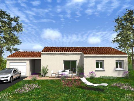 Maisons du constructeur Cotrin • 81 m² • LA LAUPIE