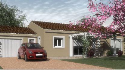 Maisons du constructeur Cotrin • 91 m² • LA BEGUDE DE MAZENC