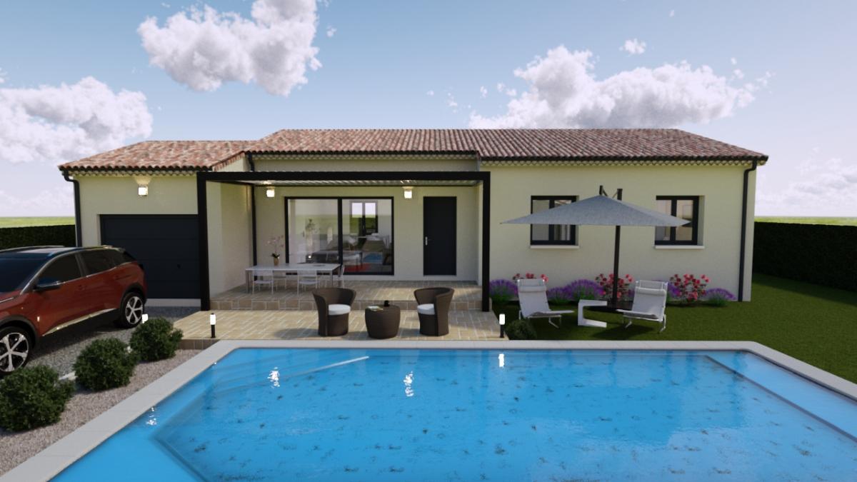 Maisons du constructeur Cotrin • 81 m² • CHAROLS