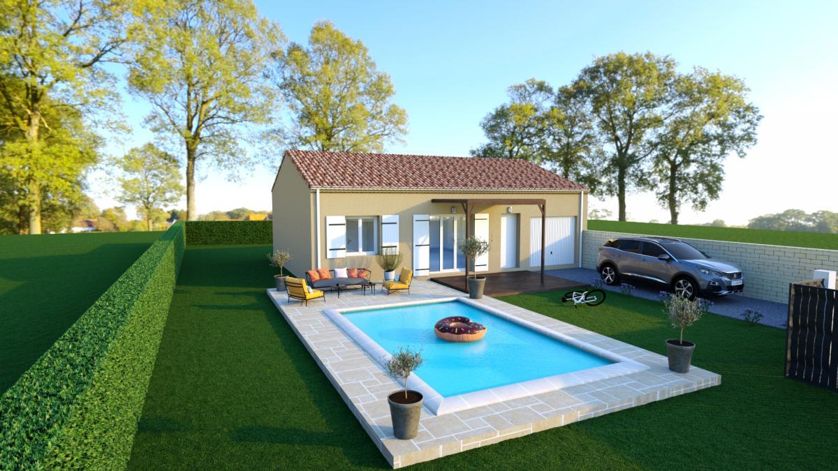 Maisons du constructeur Cotrin • 86 m² • MONTELIMAR