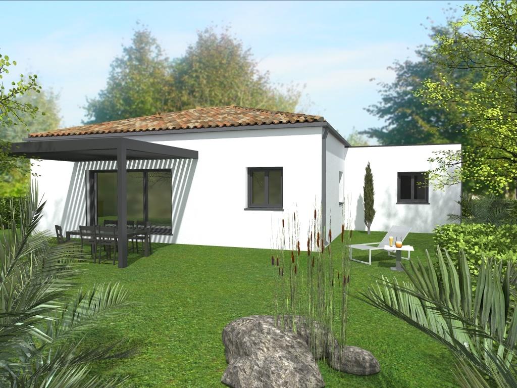 Maisons du constructeur LACIN CONSTRUCTION • 95 m² • MARAUSSAN