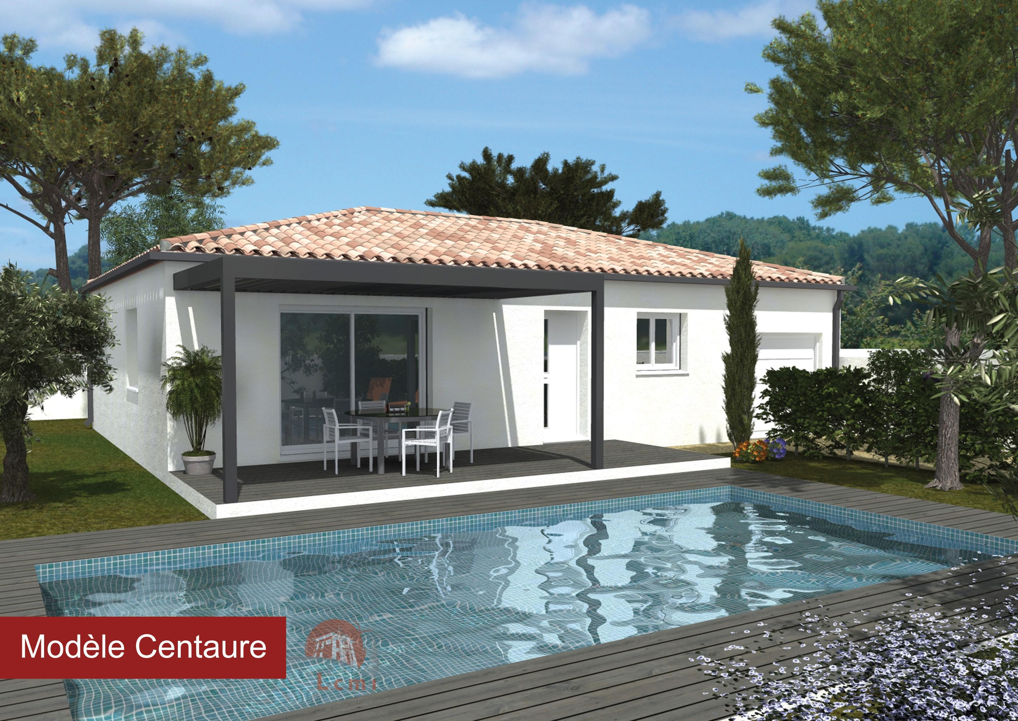 Maisons + Terrains du constructeur LACIN CONSTRUCTION • 90 m² • LIGNAN SUR ORB