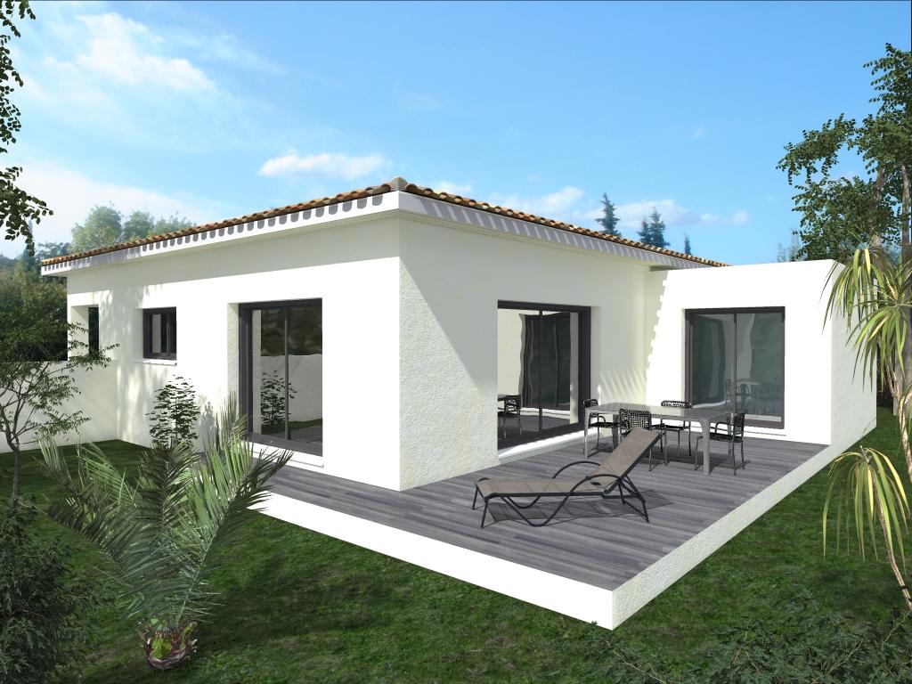 Maisons du constructeur LACIN CONSTRUCTION • 90 m² • SERVIAN
